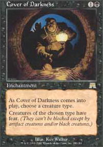 Cover of Darkness - Foil