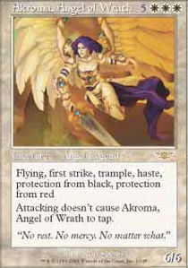 Akroma, Angel of Wrath - Foil