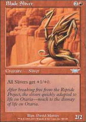 Blade Sliver - Foil on Channel Fireball