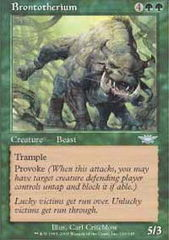 Brontotherium - Foil on Channel Fireball