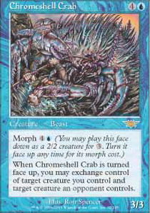Chromeshell Crab - Foil