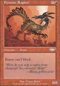 Frenetic Raptor - Foil