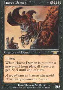 Havoc Demon - Foil