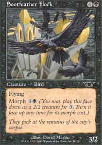 Sootfeather Flock - Foil