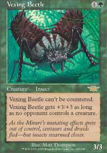 Vexing Beetle - Foil
