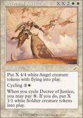 Decree of Justice - Foil