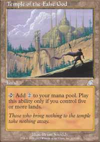 Temple of the False God - Foil