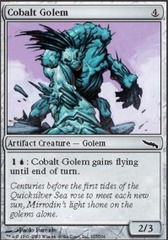 Cobalt Golem - Foil