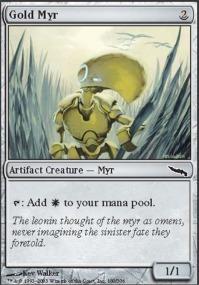 Gold Myr - Foil