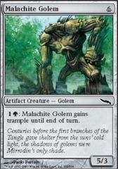 Malachite Golem - Foil
