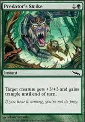 Predator's Strike - Foil