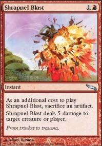SHRAPNEL BLAST X4 2015 Core Set M15 Magic MTG MINT CARD