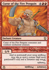 Curse of the Fire Penguin - Foil on Channel Fireball