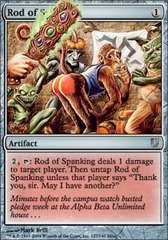 Rod of Spanking - Foil
