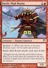 Battle-Mad Ronin - Foil