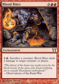 Blood Rites - Foil