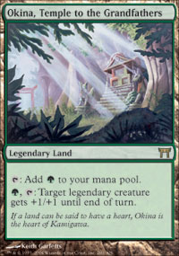 Okina, Temple to the Grandfathers - Foil