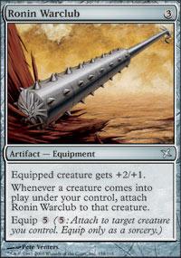 Ronin Warclub - Foil