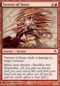Torrent of Stone - Foil