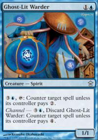 Ghost-Lit Warder - Foil