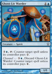 Ghost-Lit Warder - Foil