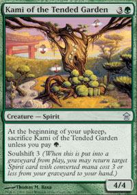 Kami of the Tended Garden - Foil