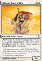 Kitsune Bonesetter - Foil