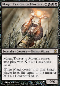 Maga, Traitor to Mortals - Foil