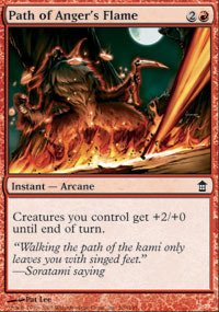 Path of Angers Flame - Foil