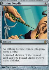 Pithing Needle - Foil on Channel Fireball