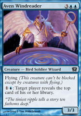 Aven Windreader - Foil on Channel Fireball
