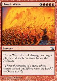 Flame Wave - Foil