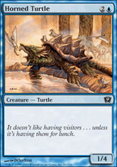 Horned Turtle - Foil on Channel Fireball