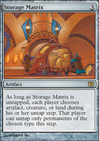 Storage Matrix - Foil