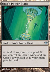 Urzas Power Plant - Foil