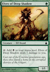 Elves of Deep Shadow - Foil