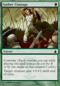 Gather Courage - Foil