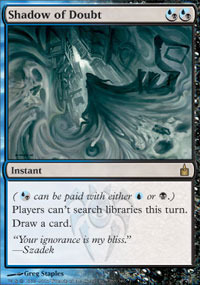 Shadow of Doubt - Foil