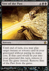 Sins of the Past - Foil