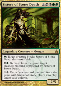 Sisters of Stone Death - Foil