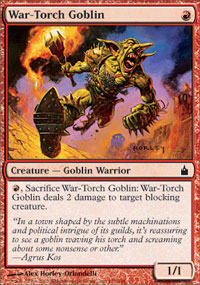 War-Torch Goblin - Foil
