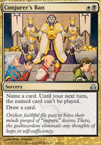 Conjurer's Ban - Foil