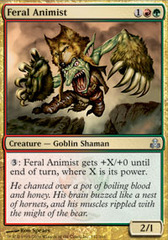 Feral Animist - Foil on Channel Fireball