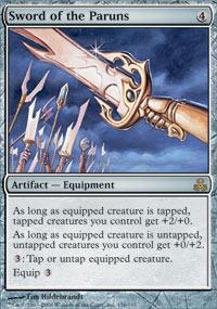Sword of the Paruns - Foil