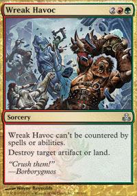 Wreak Havoc - Foil