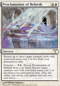 Proclamation of Rebirth - Foil