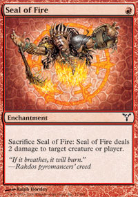 Seal of Fire - Foil