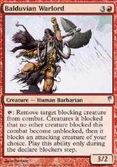 Balduvian Warlord - Foil