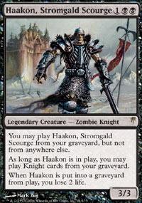 Haakon, Stromgald Scourge - Foil