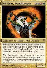 Sek'Kuar, Deathkeeper - Foil